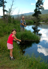 Fly fishing is for family