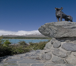 Monument to sheep dogs