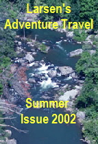 Larsen's Adventure Travel magazine - Summer 2002