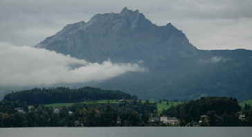 Mount Pilatus in Lucerne Switzerland
