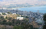 Tiberias from hill