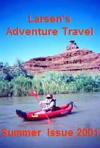 Canoeing the San Juan River